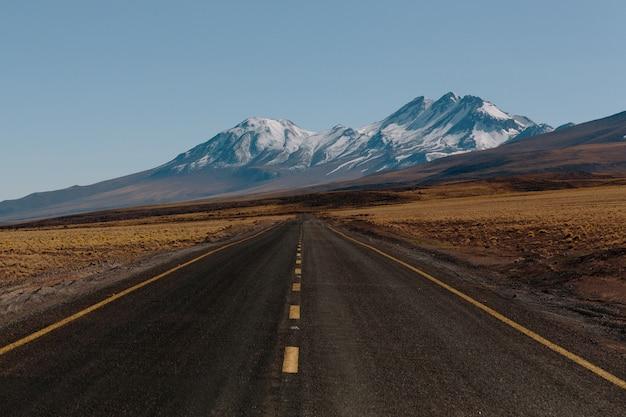 山を渡る道