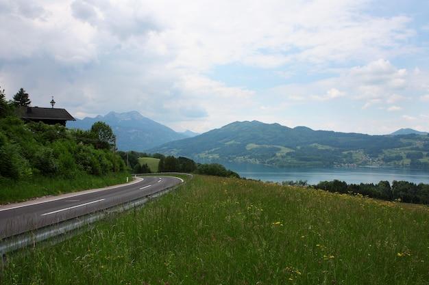 イタリアの山々、アルプスの道