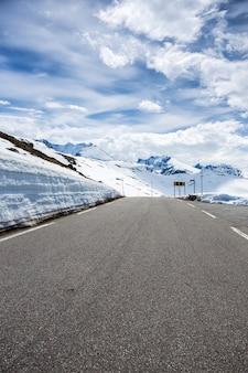 ノルウェーの山々、ノルウェーの道路