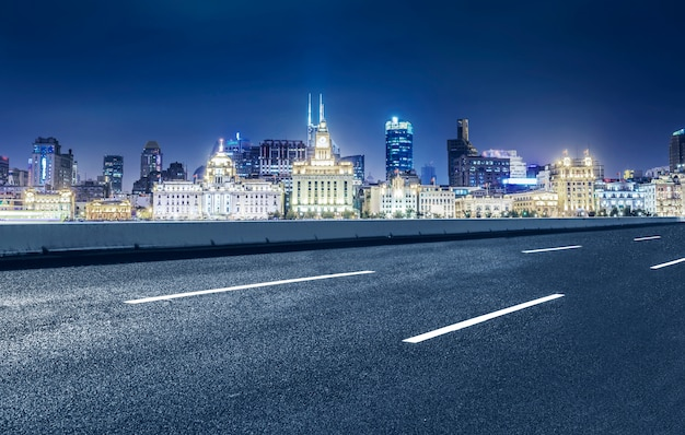 Road and the city