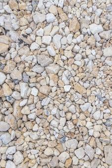 Текстура дорожного гравия. гравийный фон. текстура камней.