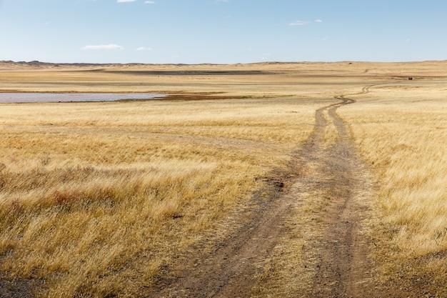 몽골 대초원의 도로, 고비 사막