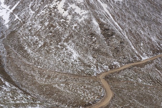 Road to the northern indian himalayan region