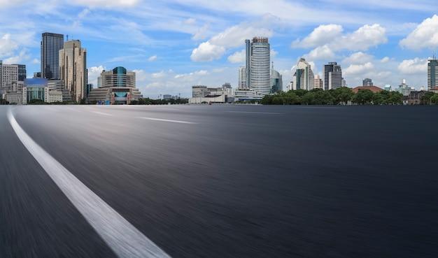 Дорожное покрытие и горизонт строительства архитектуры нинбо