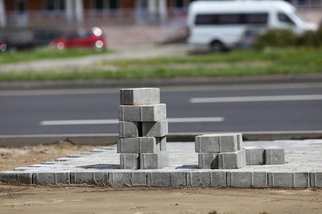 Ремонт дорог и укладка тротуарной плитки