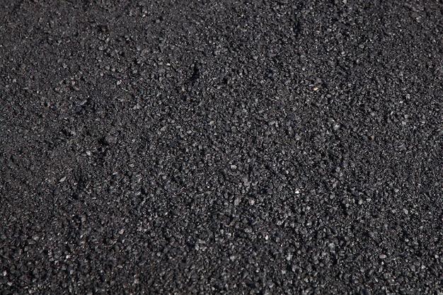 Road repair, asphalt close up