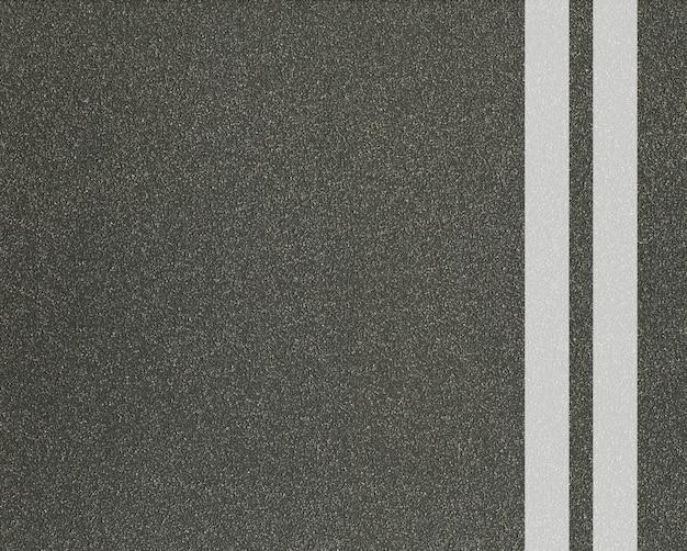 Дорожная улица или текстура асфальта с макетом линий