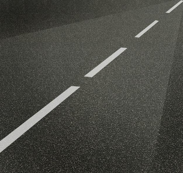 Дорожная улица или текстура асфальта с шаблоном линий