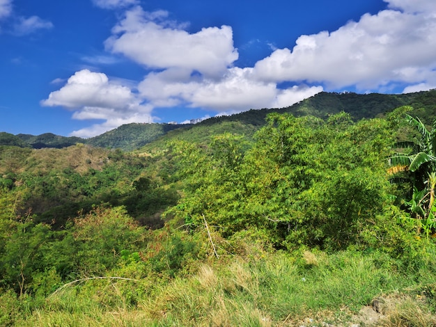 The road to taal volcano, philippines