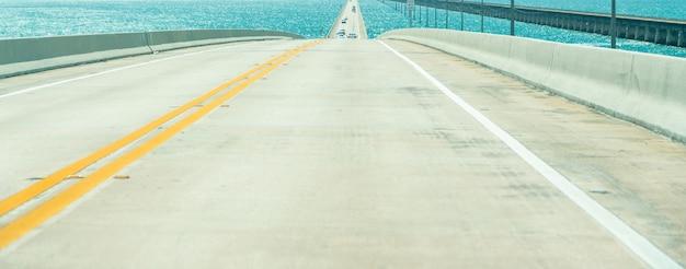 Road us1 to key west over florida keys