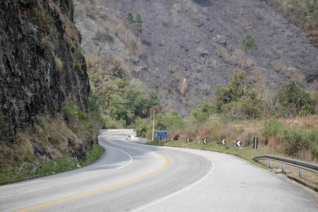 Mantiqueira 산맥의 산으로가는 길