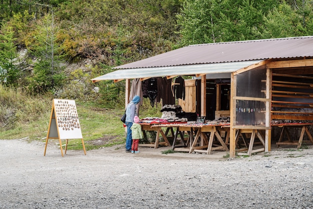 Roadside souvenir shop