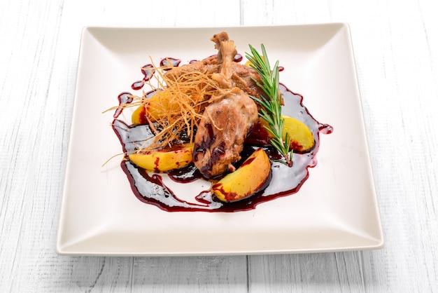 야채와 함께 구운 닭 가슴살