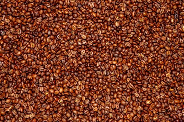 ローストコーヒー豆の背景