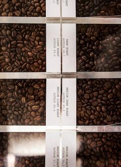 Жареные кофейные бобы