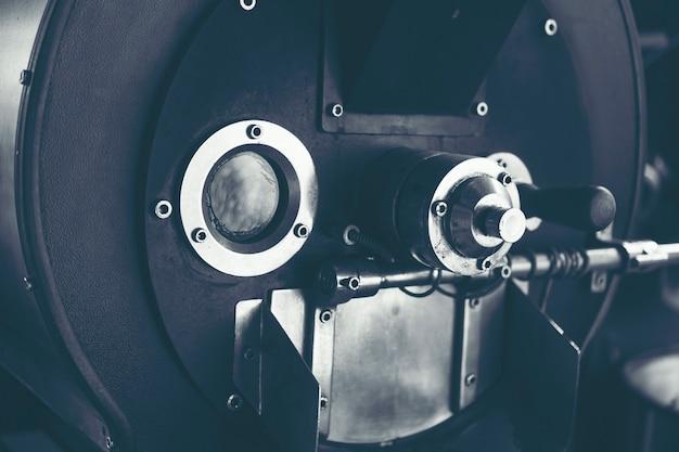 コーヒー焙煎プロセス用ローストコーヒーマシン