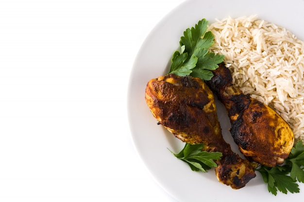 Roasted tandoori chicken