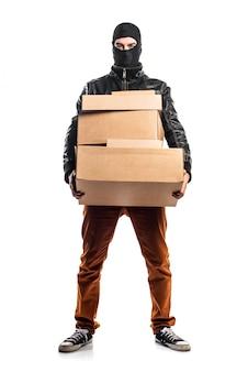 강도 보유 상자