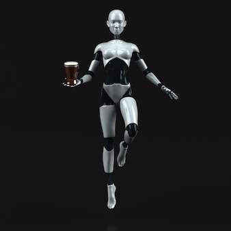 Robot - 3d character