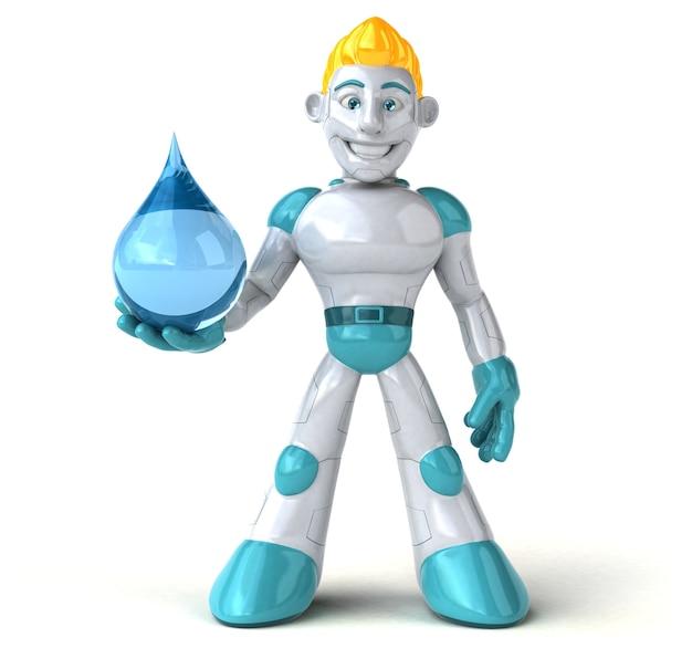 Робот - 3d персонаж