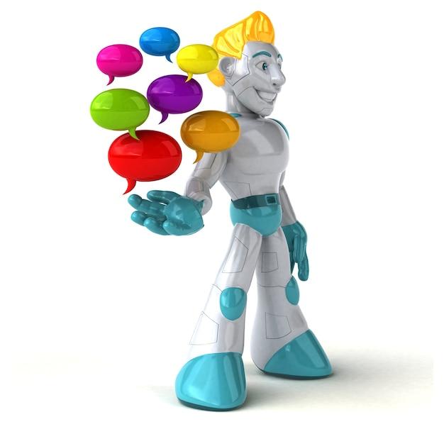 로봇-3d 캐릭터