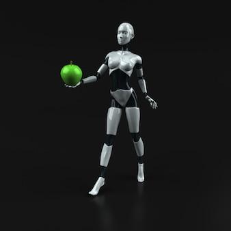 로봇 - 3d 일러스트레이션
