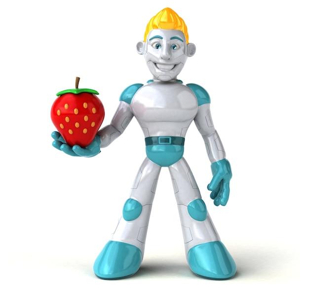 ロボット-3dイラストレーション