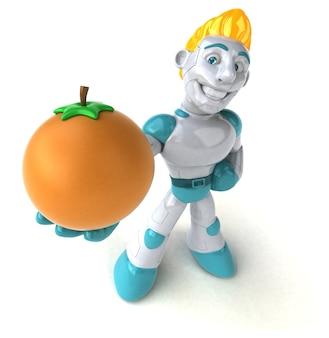로봇-3d 일러스트
