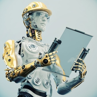 Robot amazing style