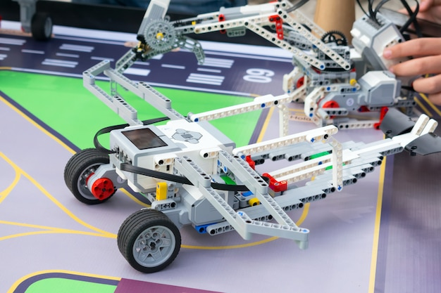 Robot car, robotics with remote control