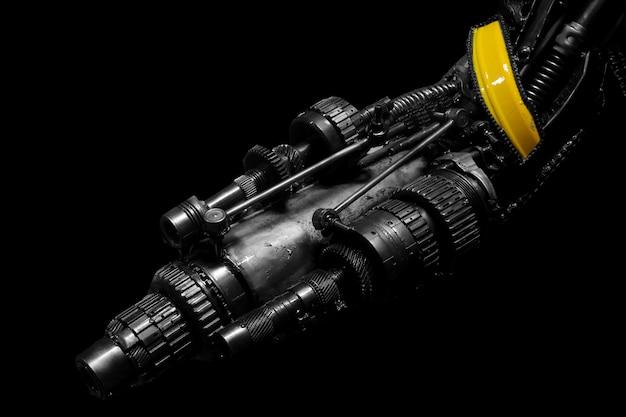 Robot gun futuristic police
