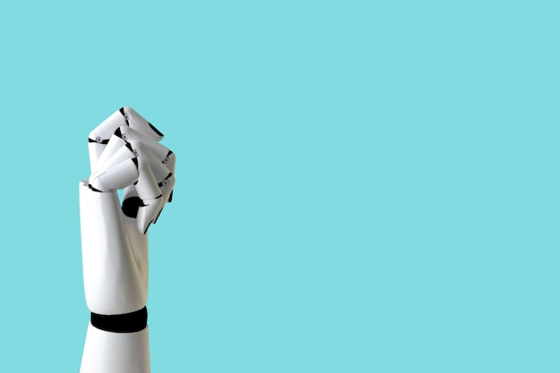 로봇 핸드 컨셉 산업 및 로봇 기술