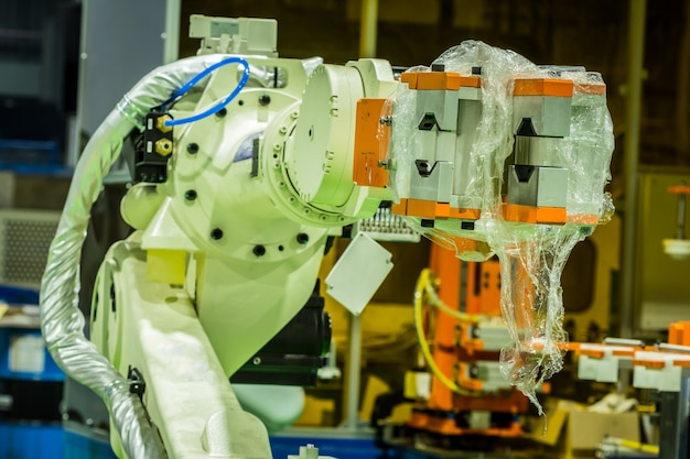 Robot used in industrial applications