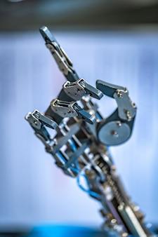 Robotic hand mechanism