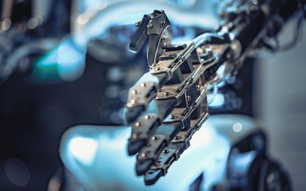 로봇 손 메커니즘
