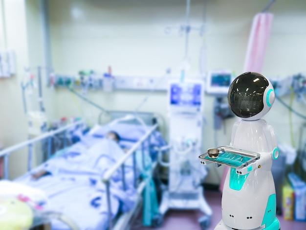 병원 의료 보조를 위한 로봇 기술