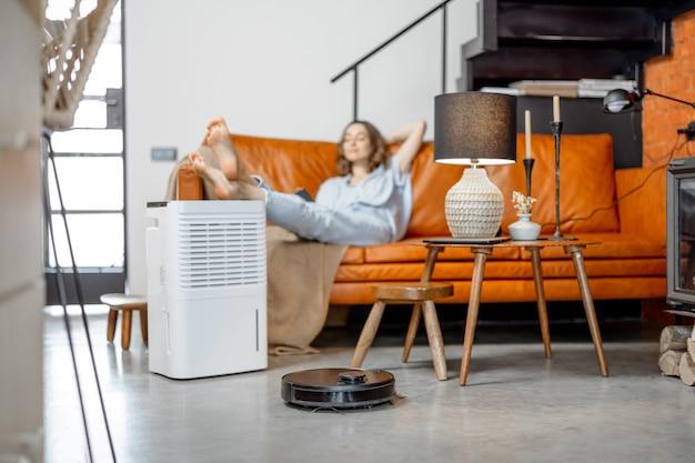 ロボット掃除機と空気清浄機
