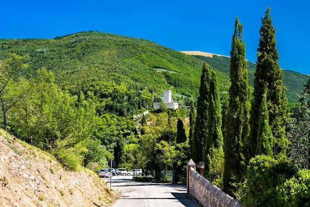 이탈리아 아시시의 로카 미노레 요새
