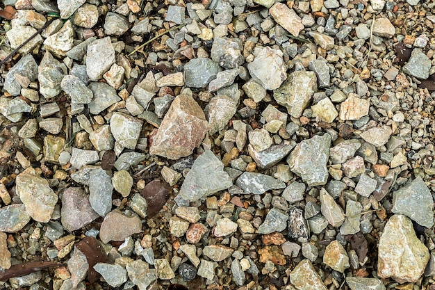 Rock floor road close up background