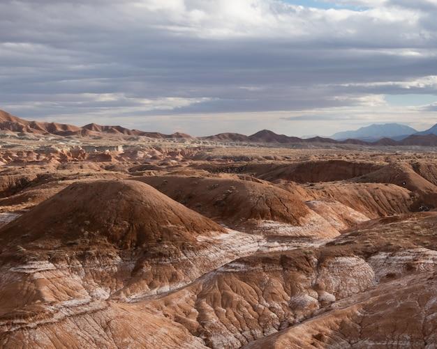 Formazioni rocciose nel goblin state park vicino a hanksville, utah, usa