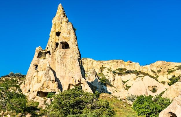 Скальные образования долины гереме в каппадокии, турция
