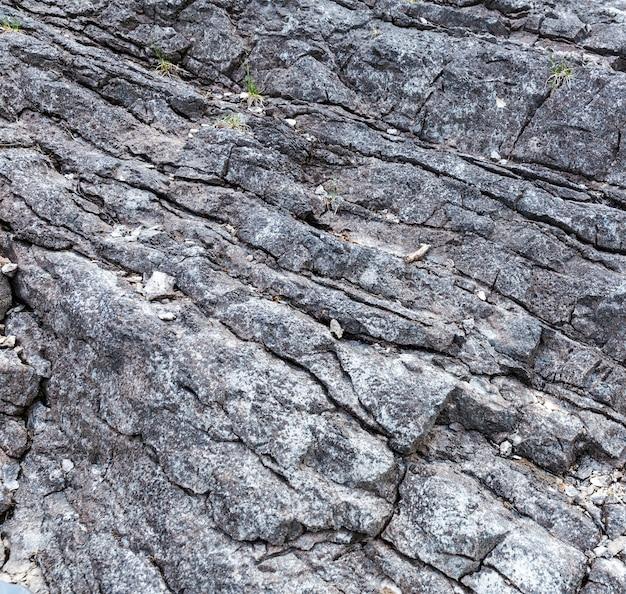 岩石の地質形成