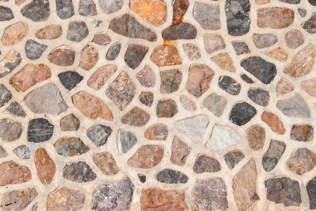 Rock wall texture and background