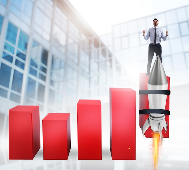 Rocket helps to improve business statistic to grow up faster