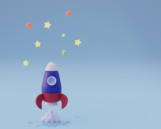 로켓 발사 우주선