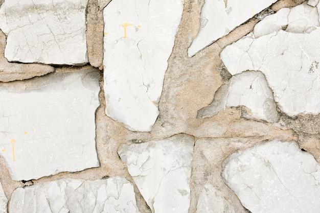 Rocks in concrete