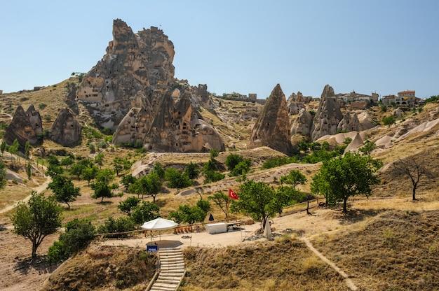 Rocks near goreme, , cappadocia, turkey