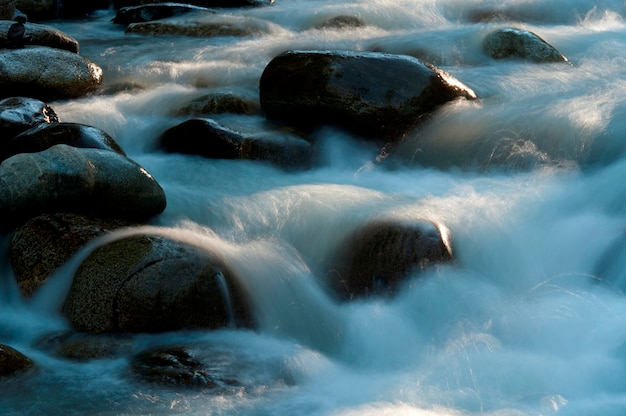Rocks in the river, whistler, british columbia, canada