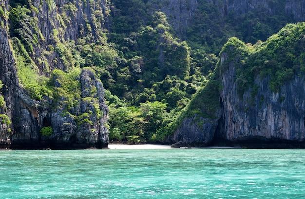 Rocks and sea landscape, beautiful views