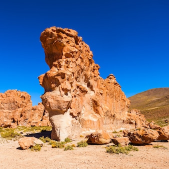 Rocks valley, bolivia
